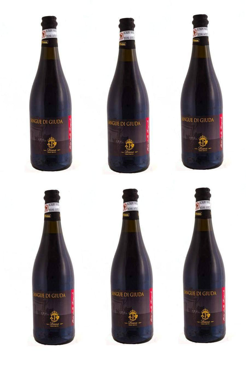 SANGUE DI GIUDA DOC Sweet Sparkling Red Wine 75cl - Agrumia