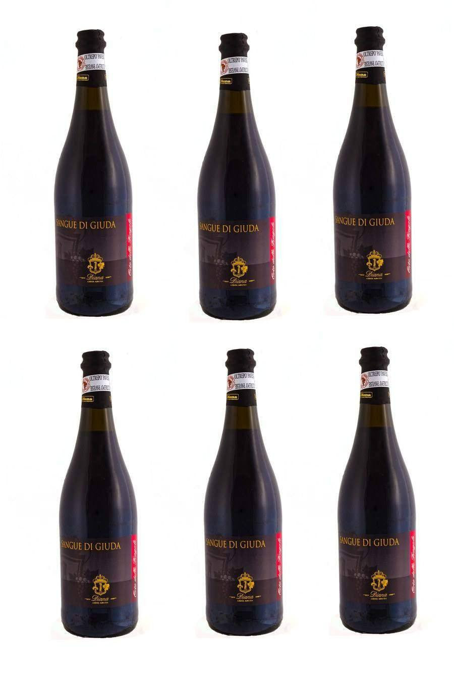 SANGUE DI GIUDA DOC Sweet Sparkling Red Wine 75cl