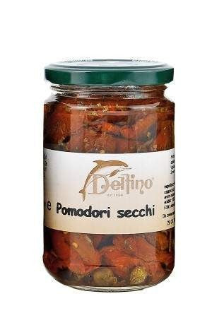 Sun Dried Tomatoes in Olive oil 314g for £2.80 at Agrumia