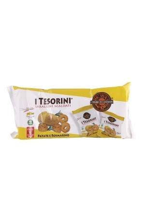 Italian Tarallini Multipack Potato & Rosemary 210g