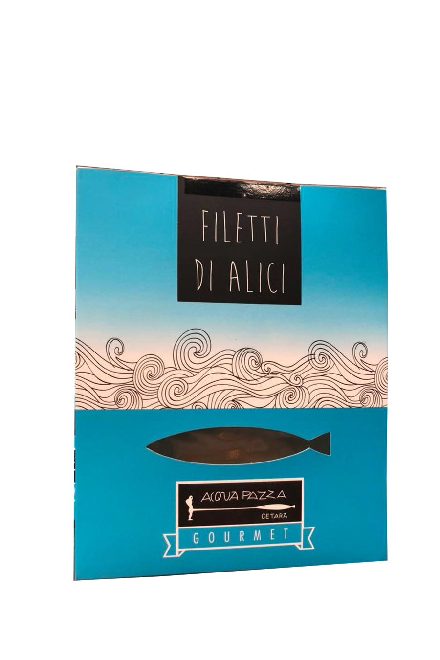 Acquapazza Gourmet Anchovy Fillets - Agrumia