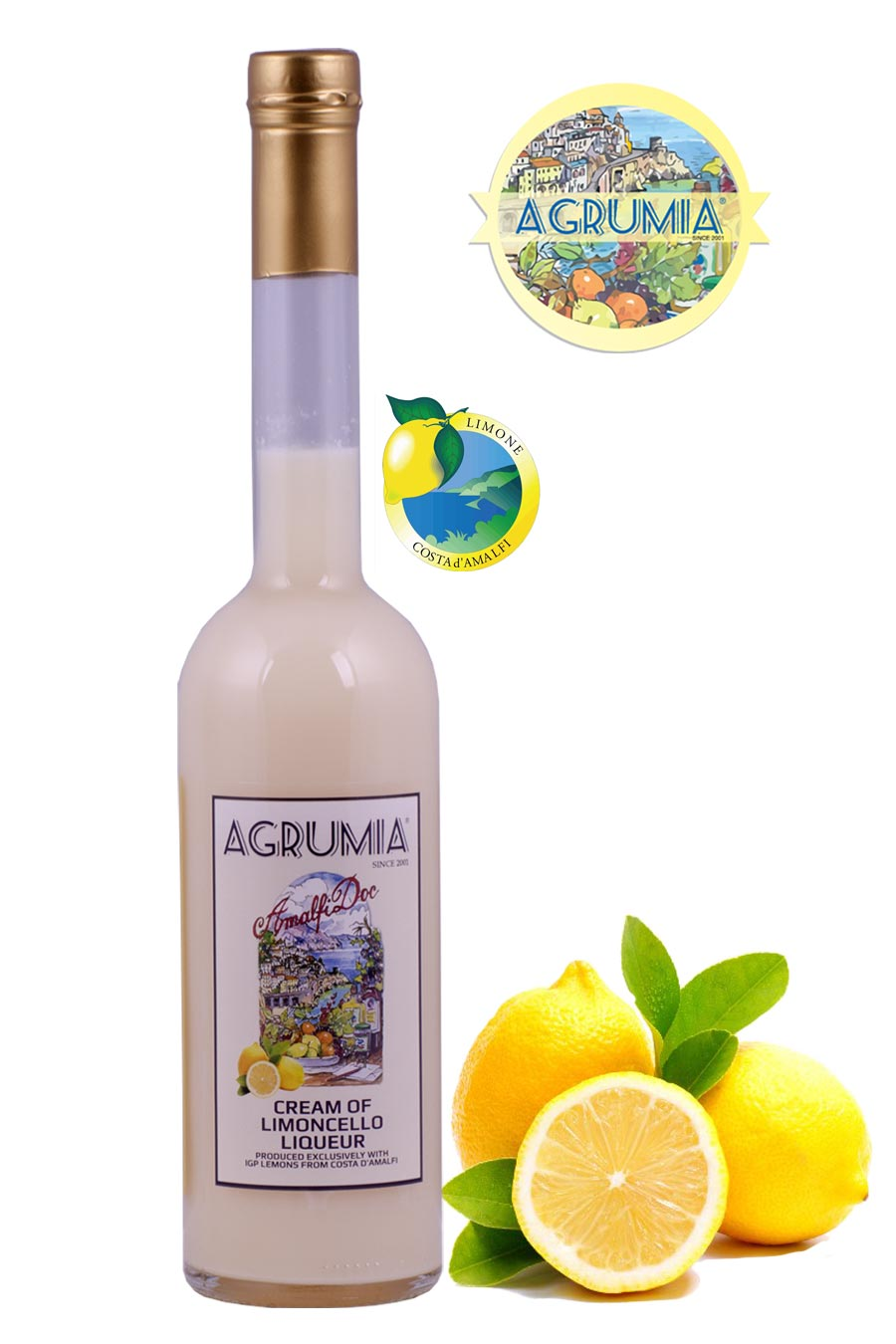 Agrumia Cream of Limoncello Liqueur 50cl