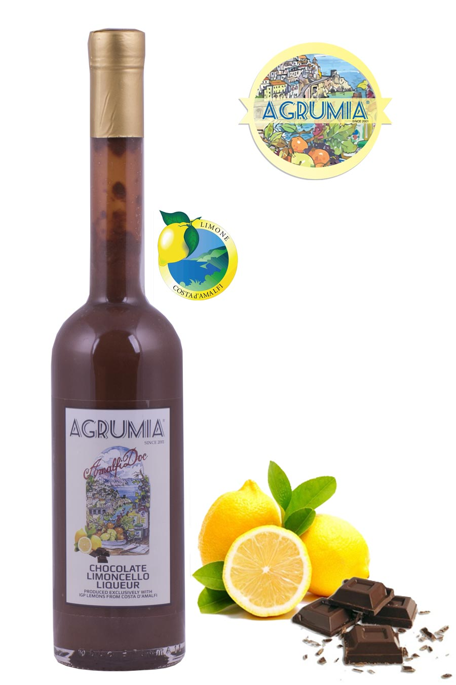 Agrumia Chocolate Limoncello Liqueur 50cl