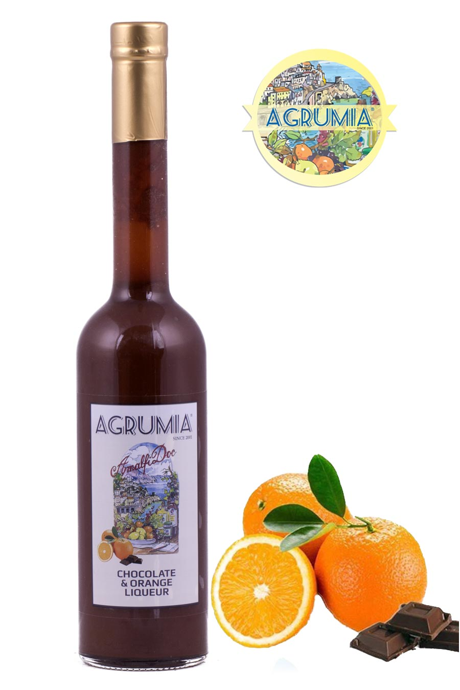 Agrumia Chocolate and Orange Liqueur 50cl - Agrumia