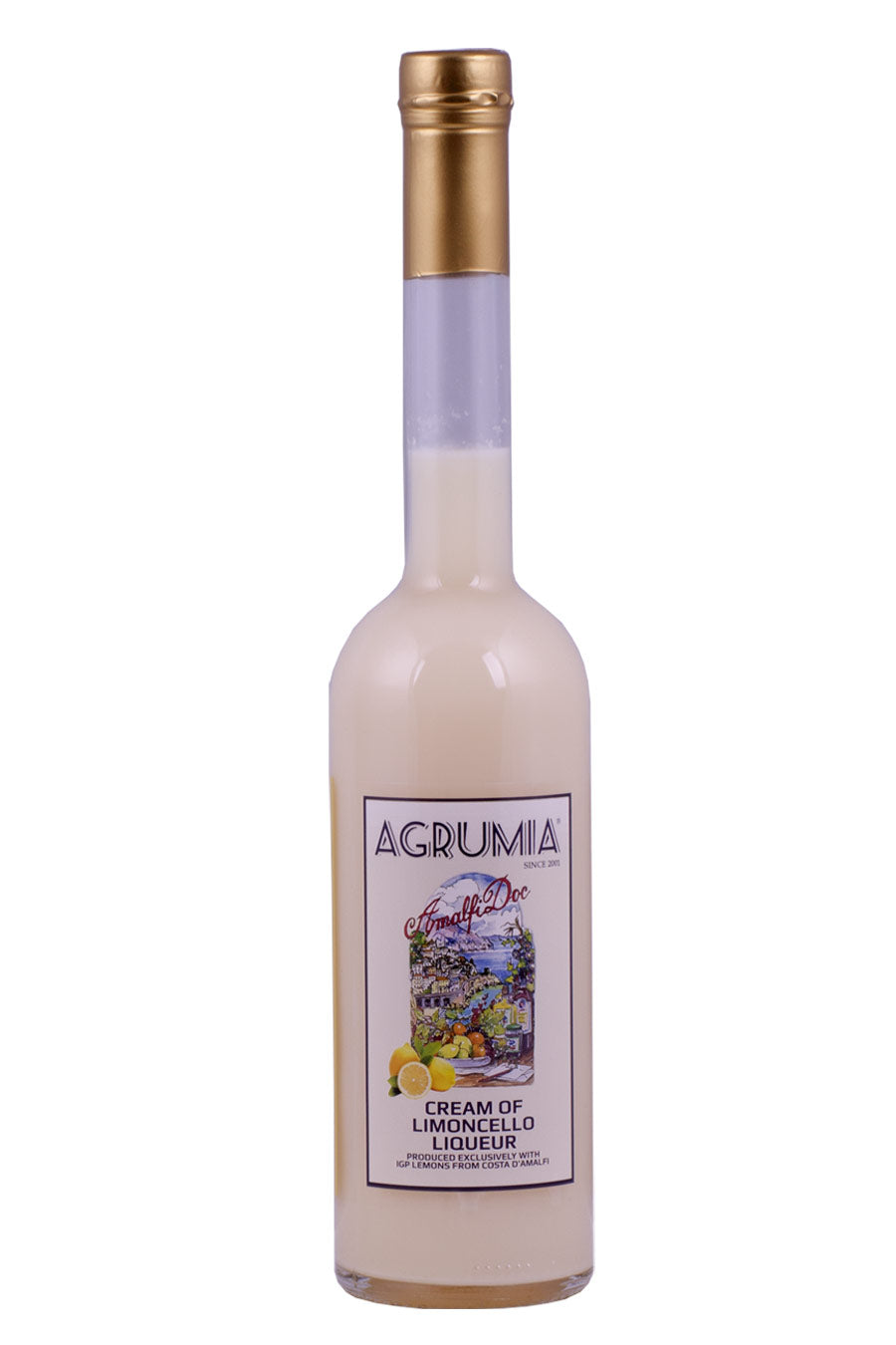 Agrumia Cream of Limoncello Liqueur 50cl - Agrumia