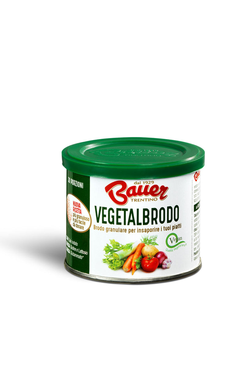 Bauer Vegetalbrodo Gluten Free instant vegetable broth 120g