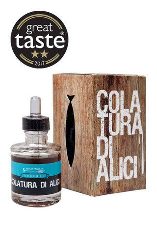 "Colatura di Alici di Cetara ""Anchovy Filtering"" 50ml for £12.99 at Agrumia"