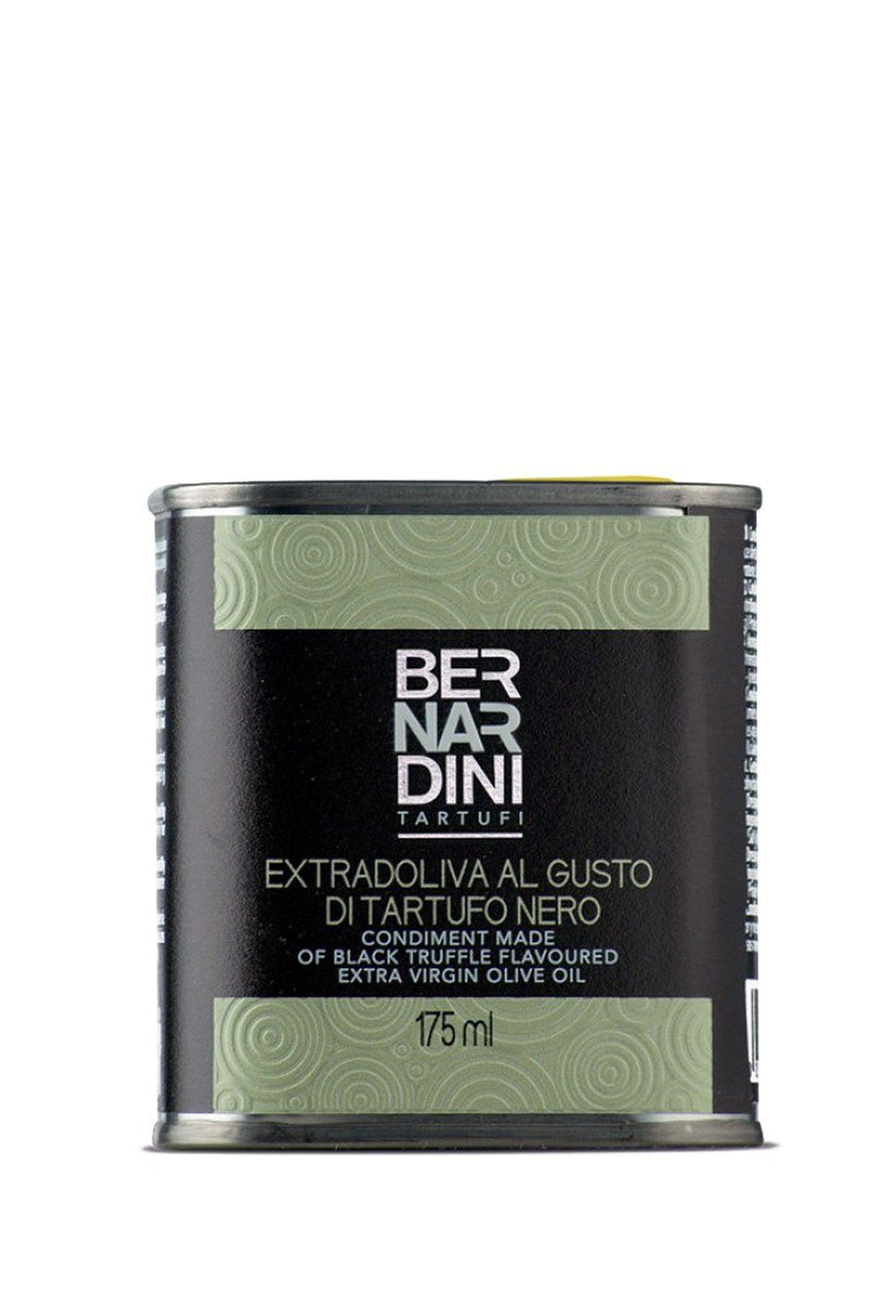 Extra virgin olive oil with black truffle - can 175ml - Agrumia
