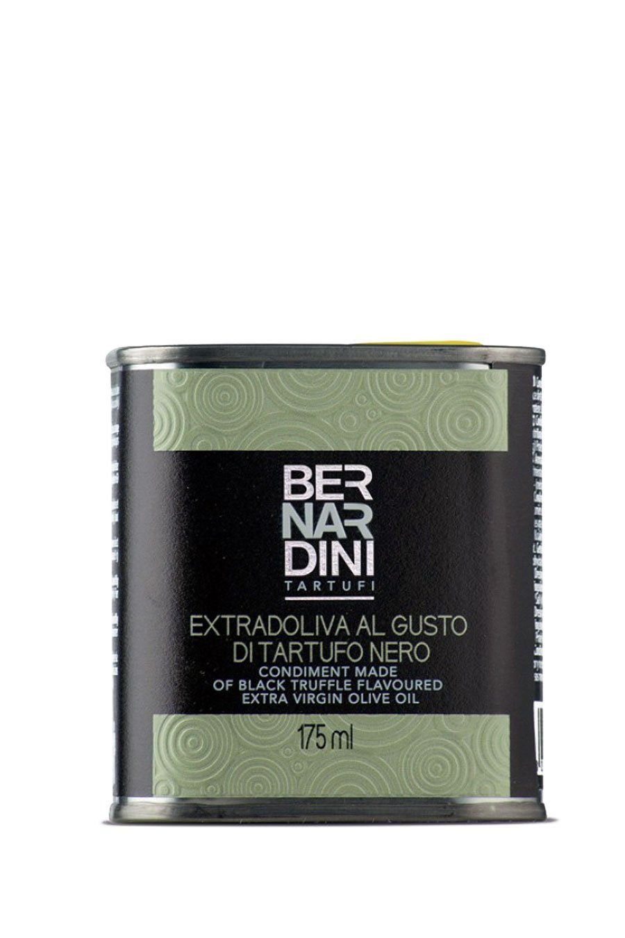 Extra virgin olive oil with black truffle - can 175ml