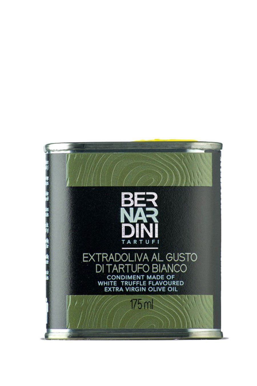 Extra virgin olive oil with white truffle - can 175ml - Agrumia