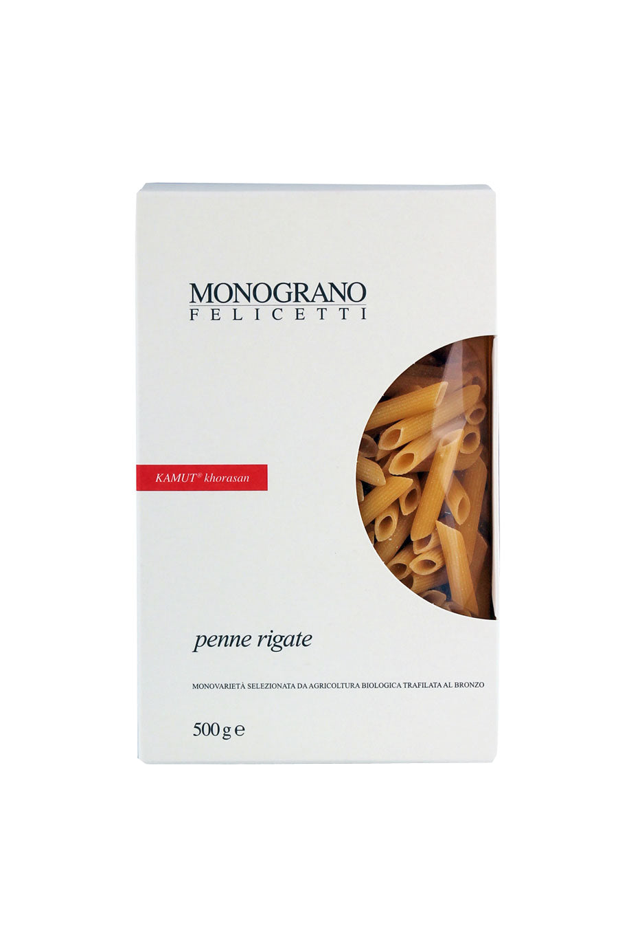 Organic Penne Rigate Kamut Monograno Line 500g