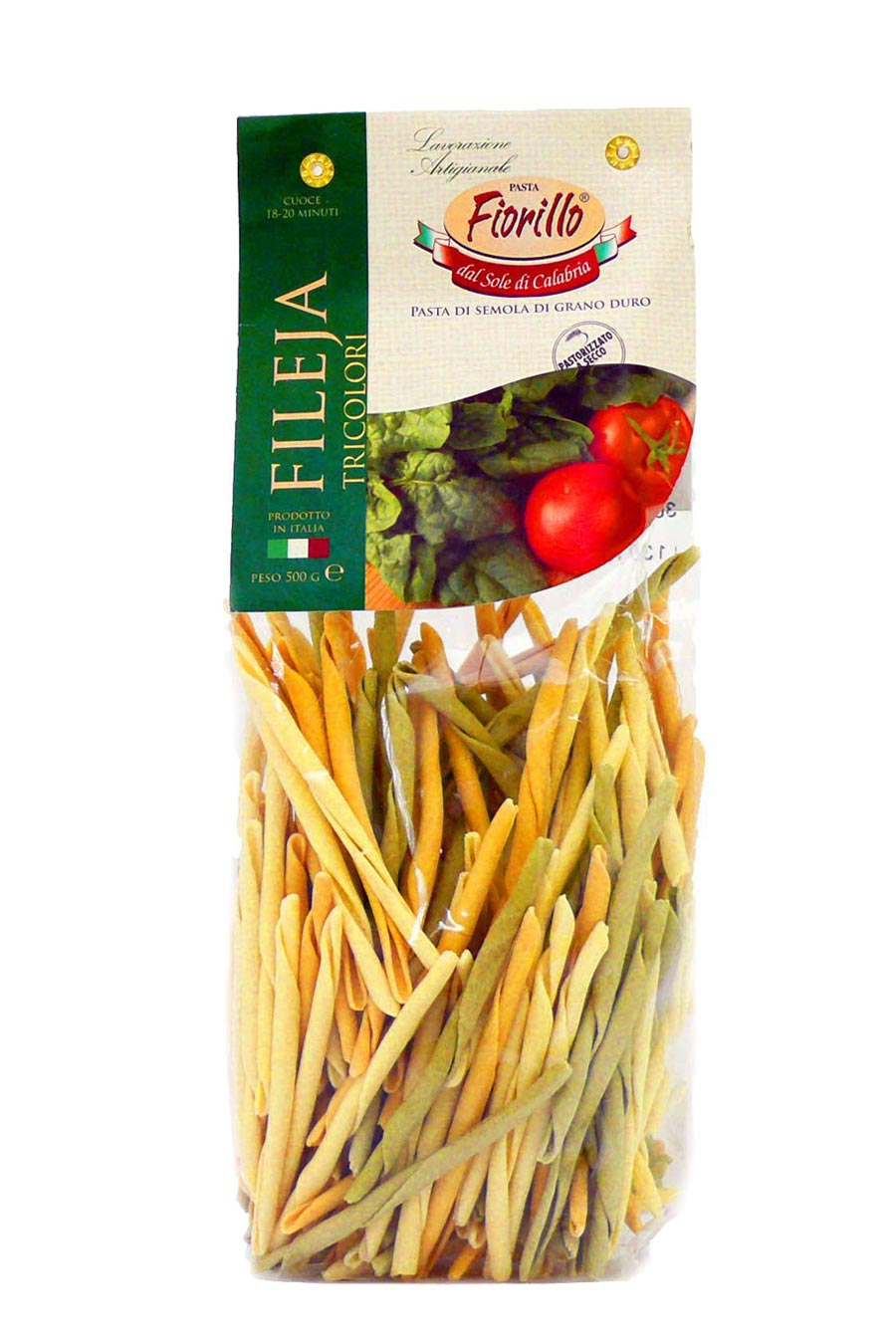 Fileja Pasta Three Colours 500g - Agrumia