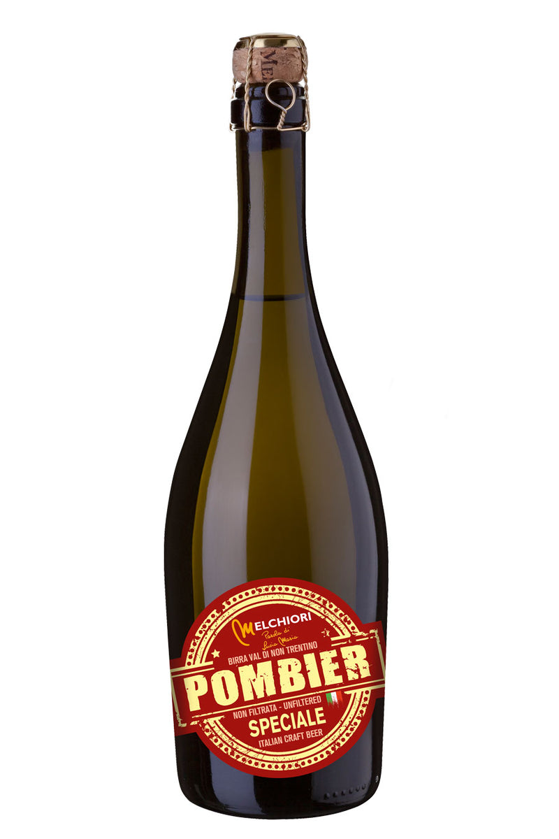 Melchiori Pombier Special Apple Beer 75cl - Agrumia