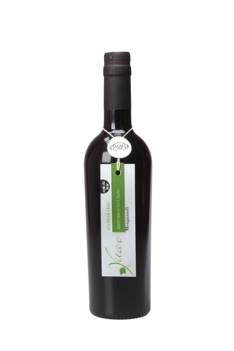 Mengazzoli Single White Wine Vinegar Pinot Grigio 500ml