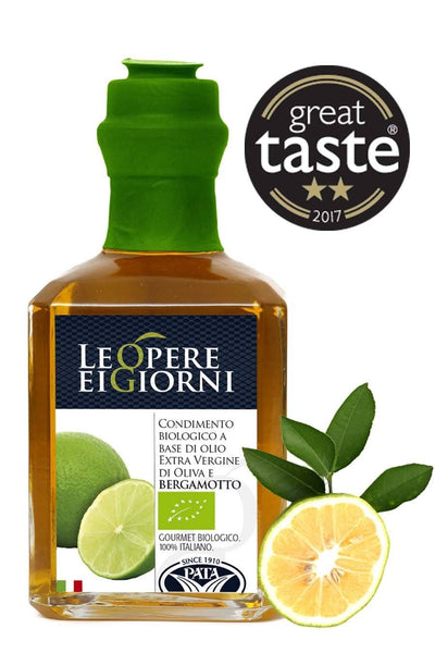 Organic Bergamot Infused Extra Virgin Olive Oil 250ml for £5.99 at Agrumia
