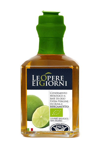 Organic Bergamot Infused Extra Virgin Olive Oil 250ml - Agrumia