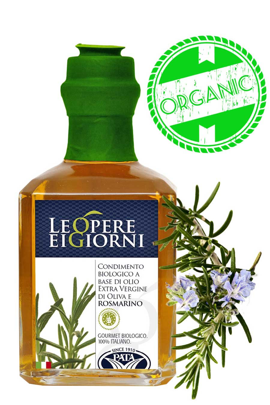 Organic Rosemary Infused Extra Virgin Olive Oil 250ml