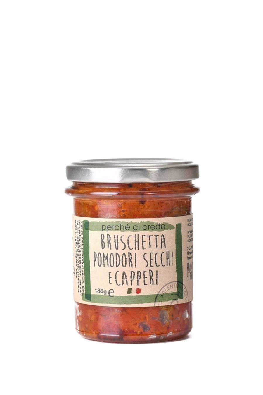Bruschetta Sundried Tomatoes and Capers Condiment 180g