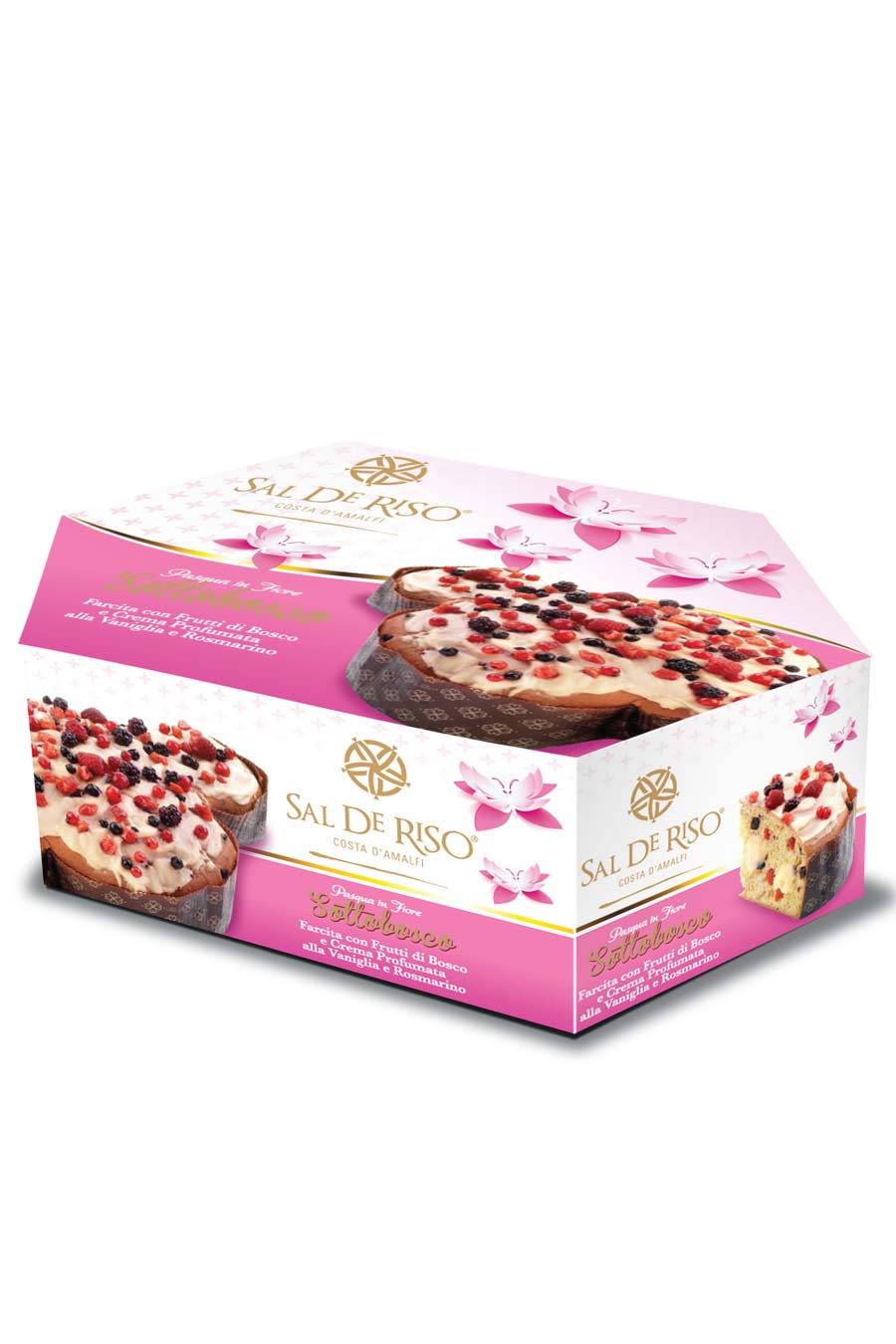 "Sal De Riso Wild Berries Easter Colomba ""Sottobosco"" - Agrumia"