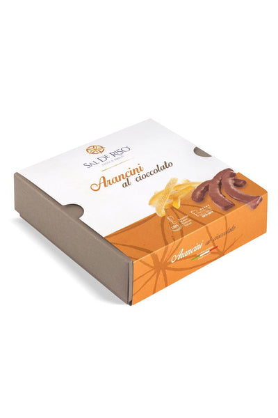 Orange candied peels, covered with dark Chocolate 150g - Agrumia