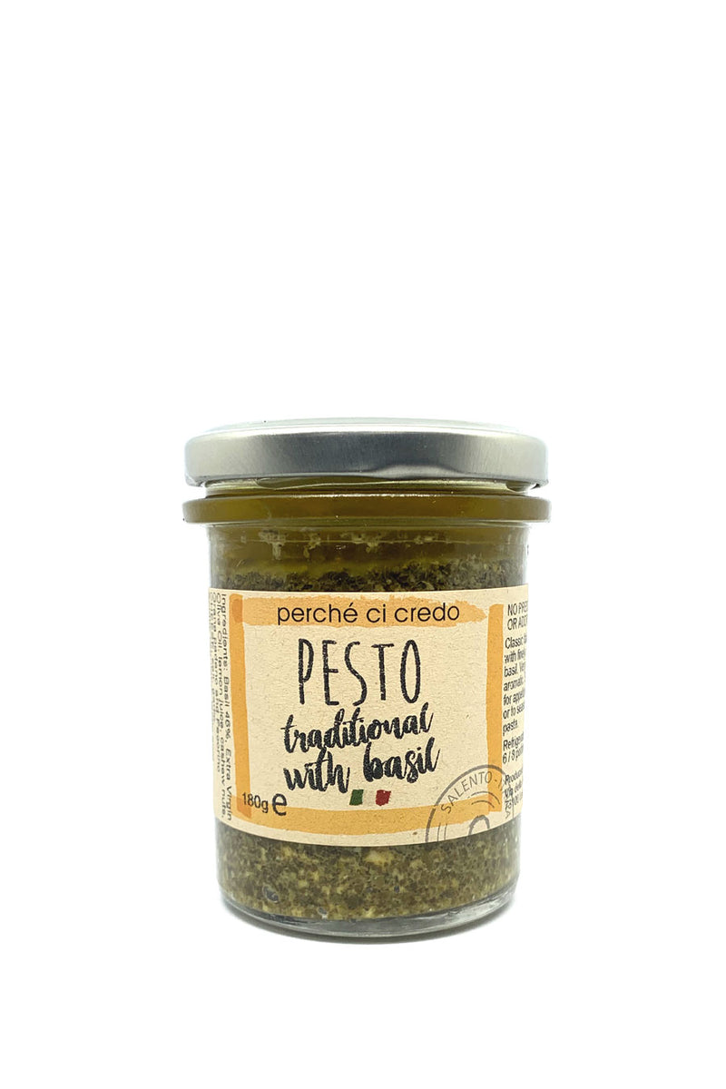 Traditional Basil Pesto Sauce - Agrumia
