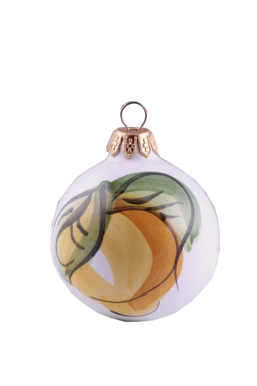 Agrumia Handmade Ceramic Christmas Ball