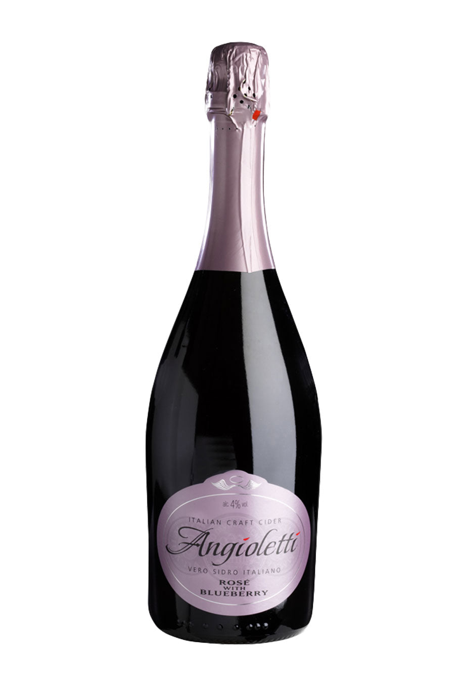 Angioletti 'Rose with Blueberry' Sparkling Italian Craft Cider 75cl - Agrumia