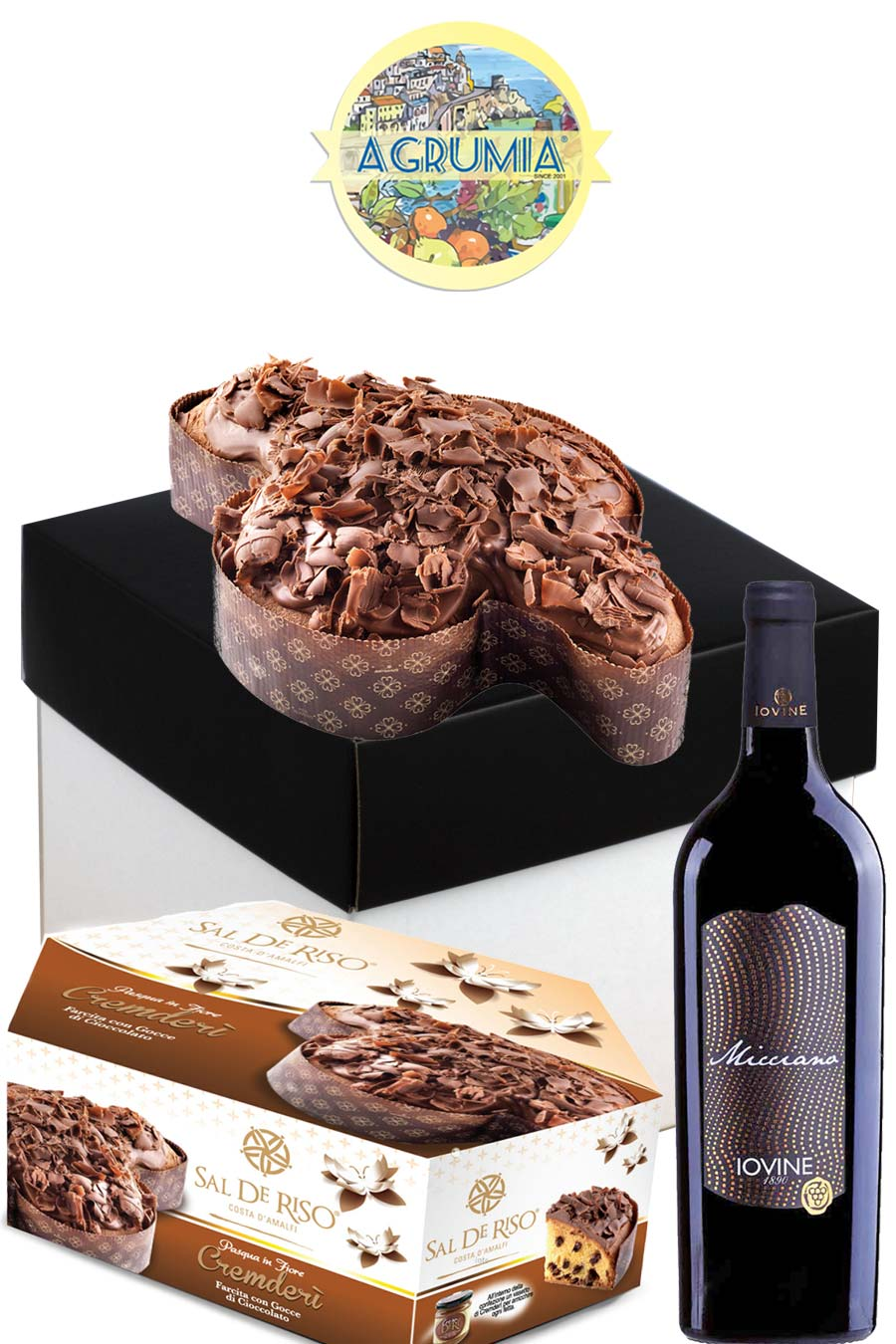 The Italian Gourmet Easter Hamper - Agrumia