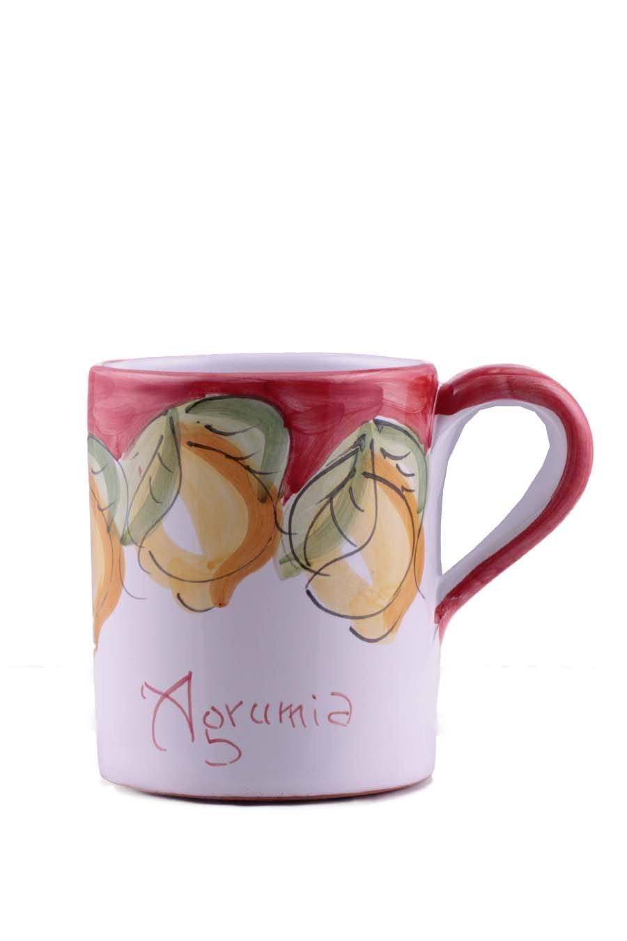 Agrumia Handmade Ceramic Coffee Mug