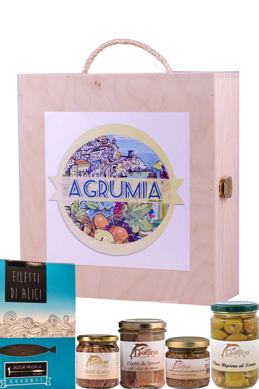 Agrumia Fisherman's Net Hamper Box