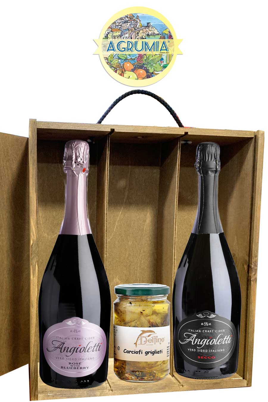 Agrumia Italian Craft Cider Hamper