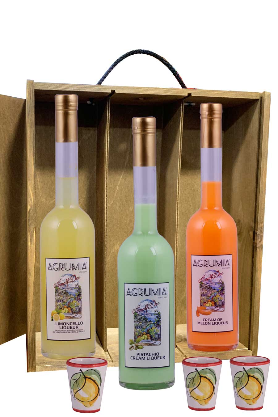 Agrumia Limoncello Trilogy Hamper
