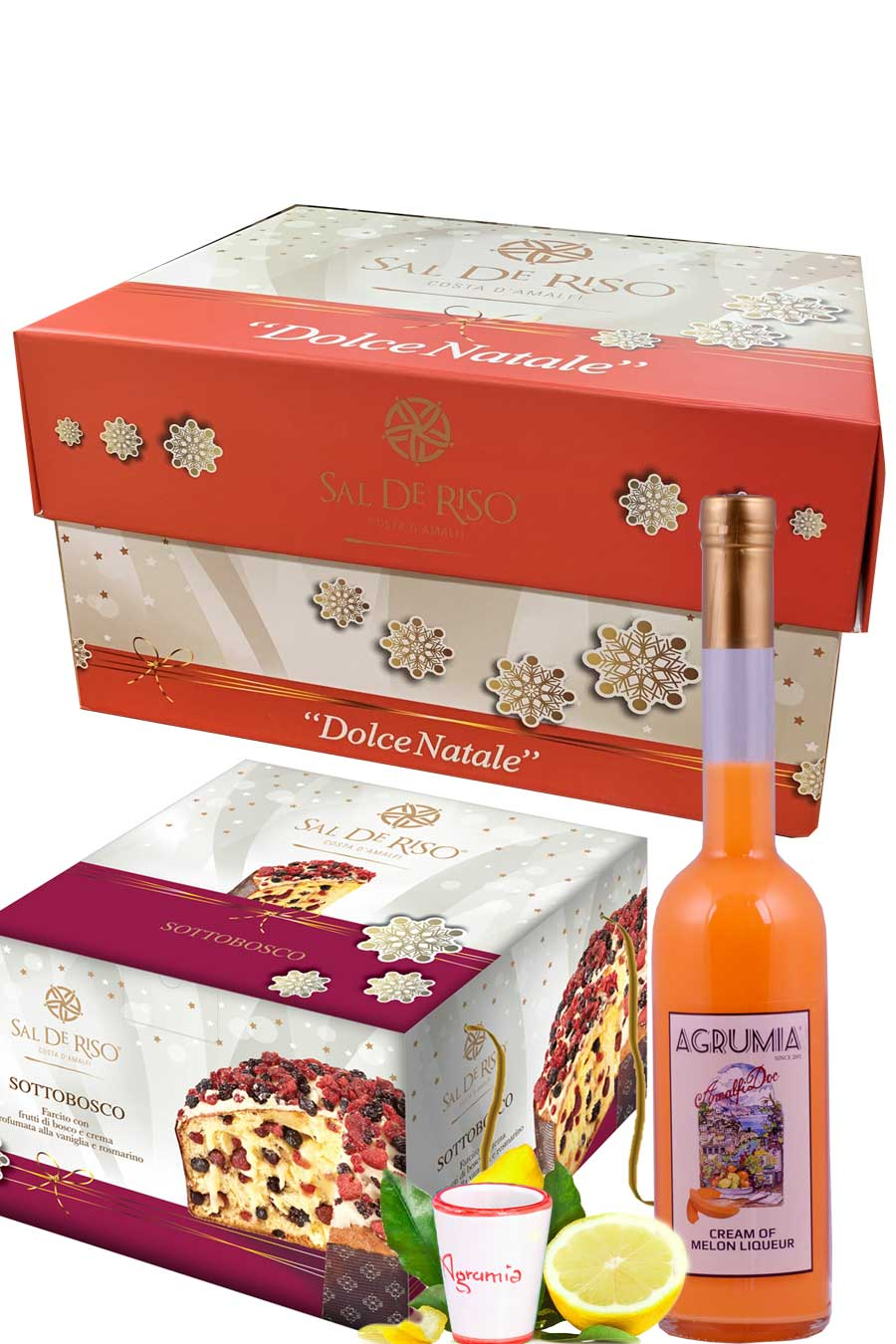 Sal De Riso White Christmas Hamper