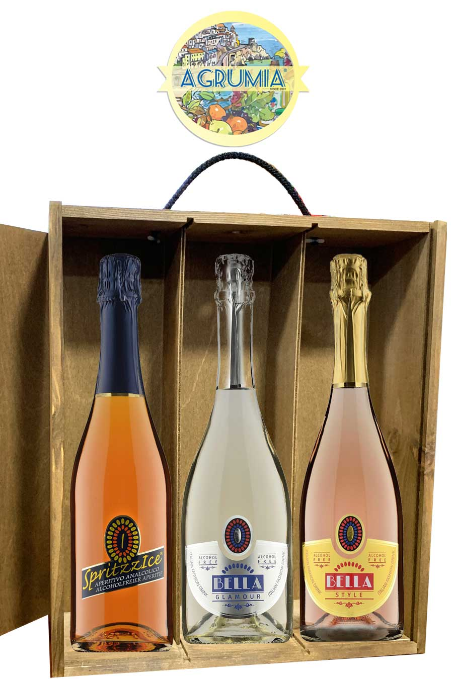 Agrumia Alcohol-Free Wine Hamper Set