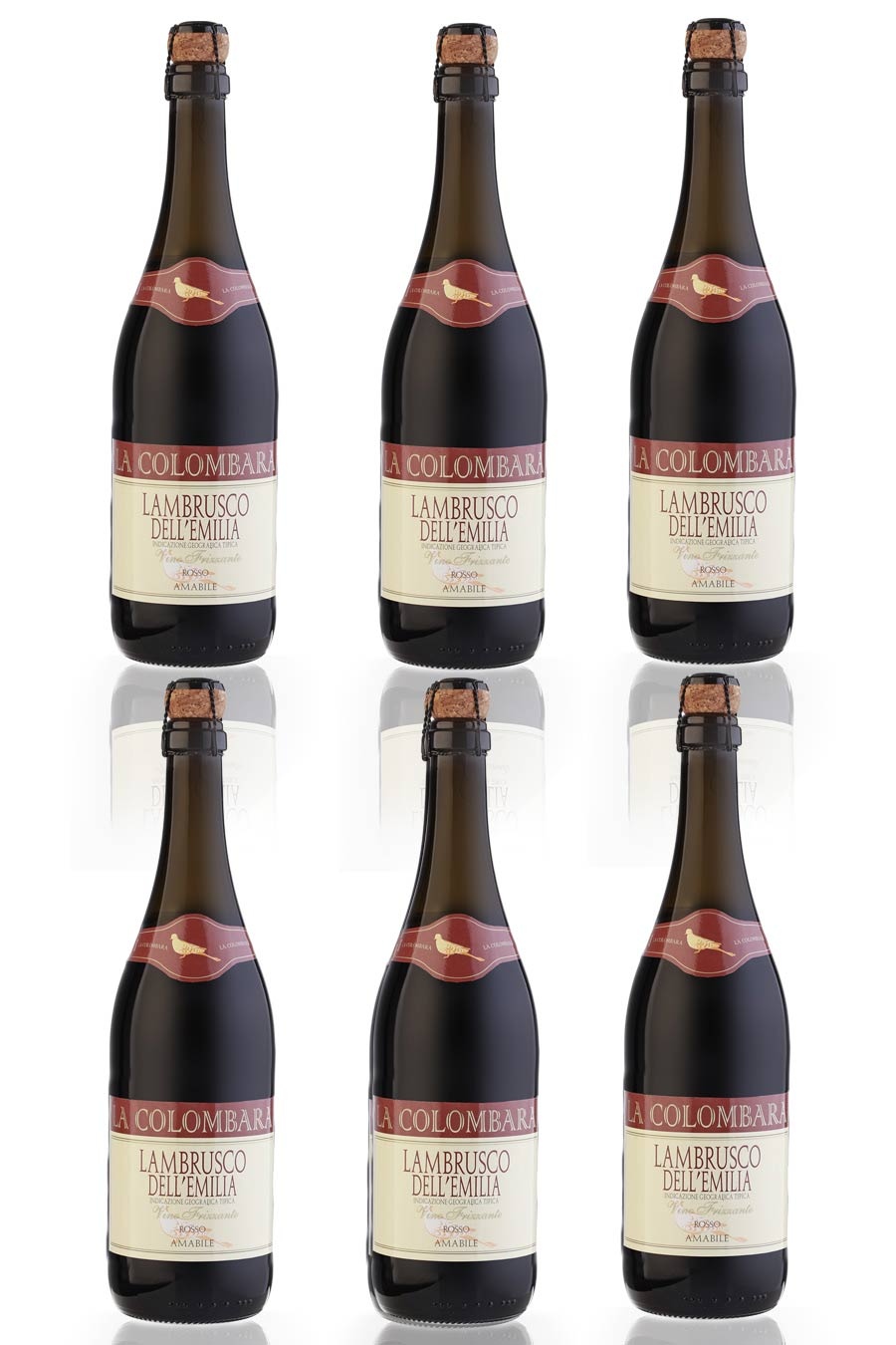 Lambrusco Rosso Amabile (red sweet semi sparkling) 75cl