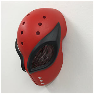 Textured Superior (Mk II) Spider-Man FaceShell & Magnetic Frames