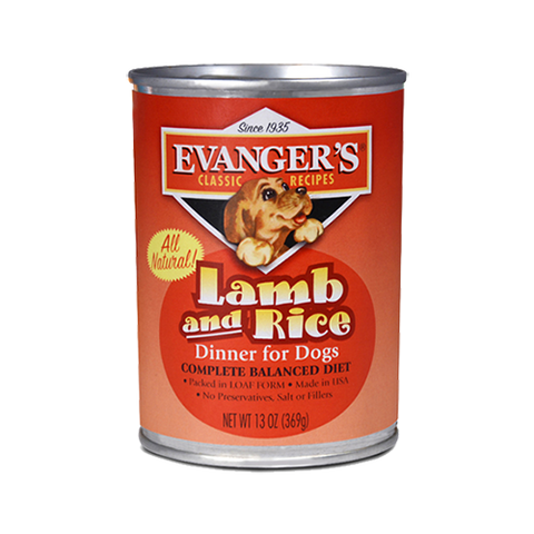Evanger's Classic Lamb & Rice Dinner