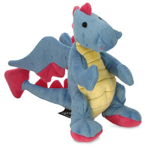 Go Dog Fun Dragon Toy Periwinkle Small