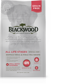 Blackwood Grain Free Buffalo & Pea
