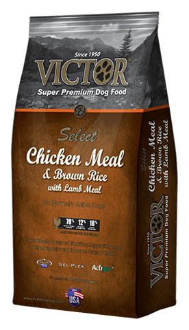 Victor Select Chicken Meal & Brown Rice