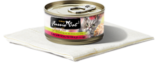 Fussie Cat Tuna with Ocean Fish in Aspic