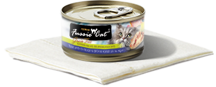 Fussie Cat Tuna with Threadfin in Aspic