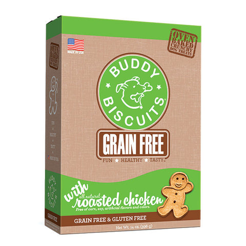 Buddy Biscuits Grain Free Oven Baked Treats: Roasted Chicken
