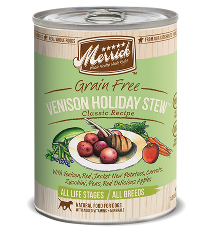 Merrick Grain Free Venison Holiday Stew Classic Recipe
