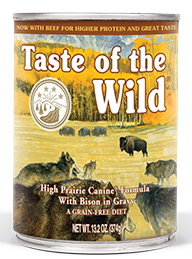 Taste of the Wild High Prairie Canine® Formula with Bison in Gravy