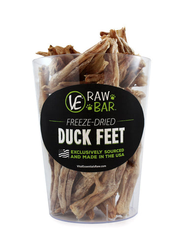 Vital Essential Freeze-Dried Duck Foot