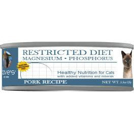 Restricted Diet Magnesium – Phosphorus Pork Dinner for Cats