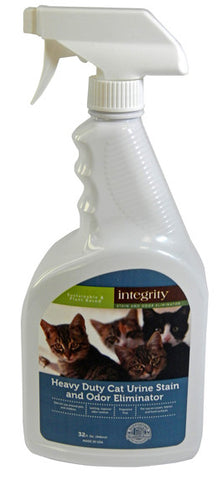Integrity Heavy Duty Cat Urine Stain and Odor Eliminator