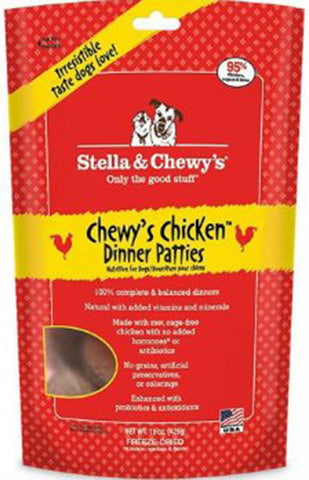Stella & Chewy's Chicken Dinner Patties