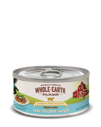 Whole Earth GF Real Chicken cat  (morsels in gravy)